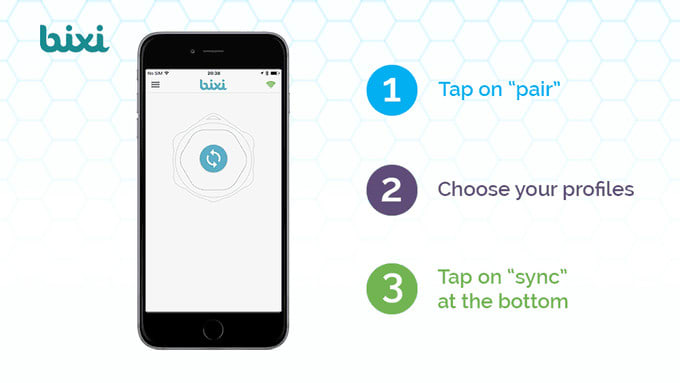 Bixi Add Gesture Control To Any Smart Device Indiegogo