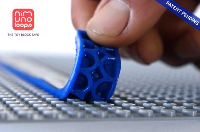 Nimuno Loops The Original Toy Block Tape Indiegogo