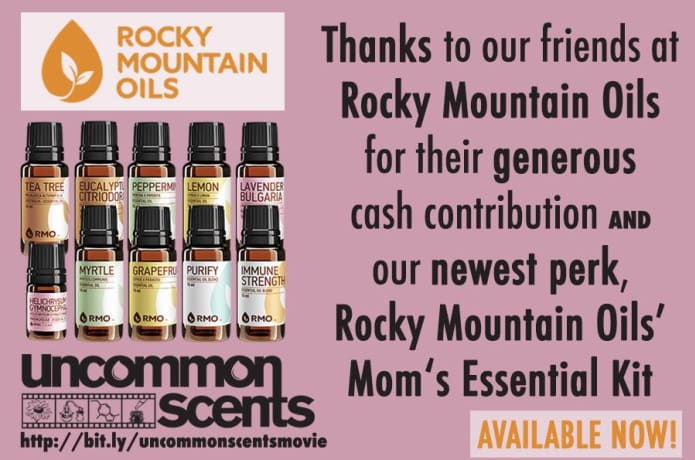 Uncommon Scents - An Aromatherapy Documentary   Indiegogo