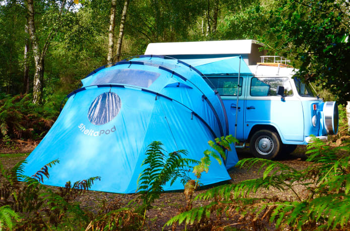 sheltaPod: The Campervan Awning Reinvented | Indiegogo