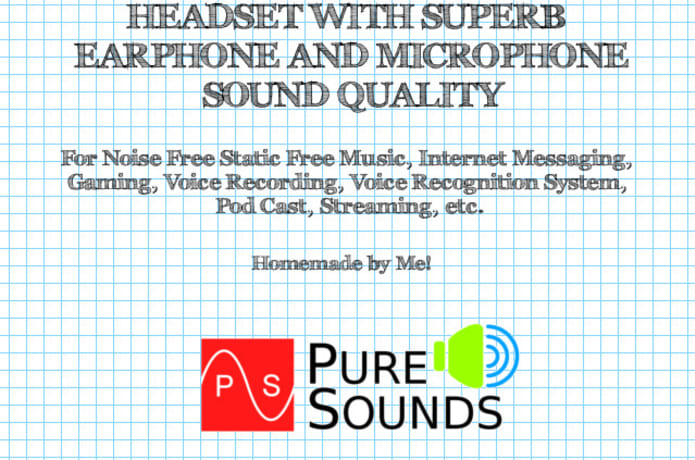 PureSounds Headset : A Headset with Superb Sound Quality | Indiegogo