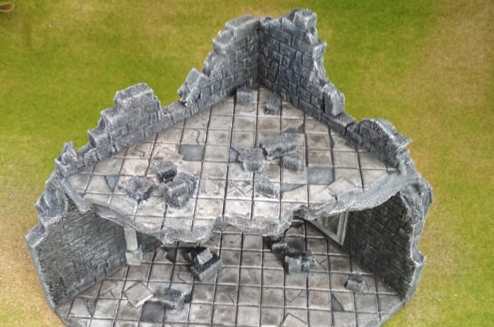 3D Printable Terrain for Wargaming by URBANMATZ 3D | Indiegogo