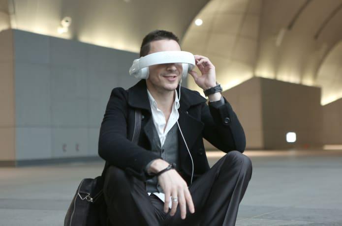 Dashbon Mask A Wearable Headphone Movie Theatre