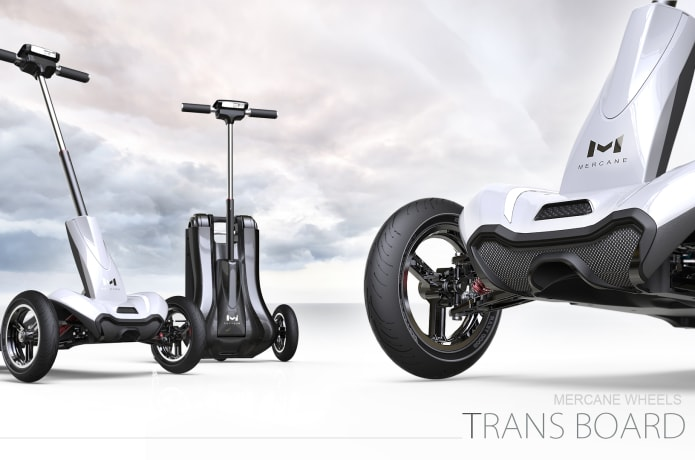 TRANSBOARD Foldable Electric 3-Wheel Scooter | Indiegogo