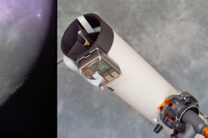 PiKon 3D Printed Telescope   Indiegogo