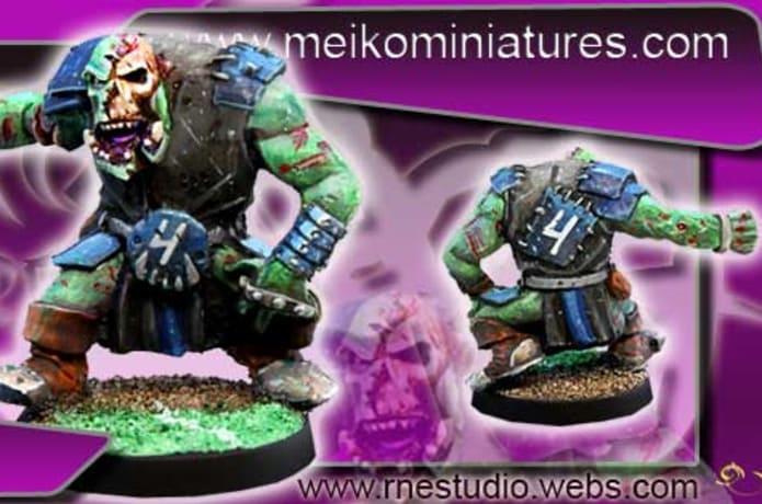 Meikos Undead Necromantic Fantasy Football Team Indiegogo