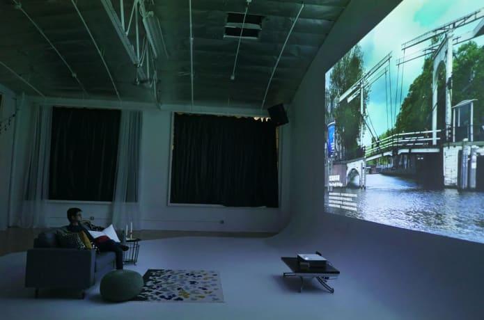 VAVA 4K Ultra Short Throw Laser Projector   Indiegogo