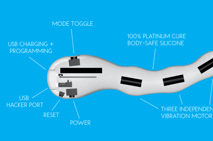 The Mod - Multivibrating Open-Source Dildo | Indiegogo