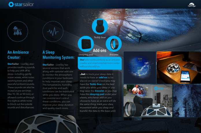 StarSailor Live Brings the Skies into your Bedroom | Indiegogo