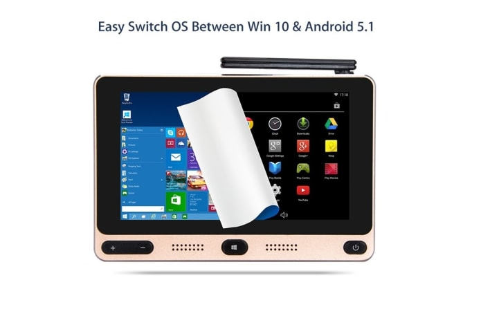Gole1, Cheapest Windows10 Intel Touch Mini PC | Indiegogo
