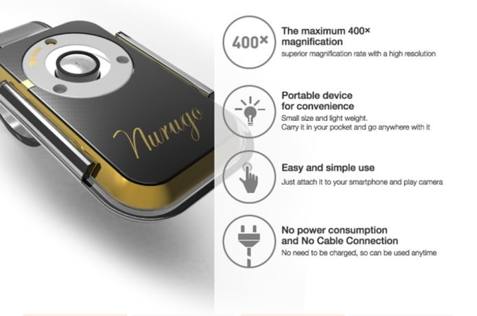 The Smallest 400x Microscope for Smartphone! | Indiegogo