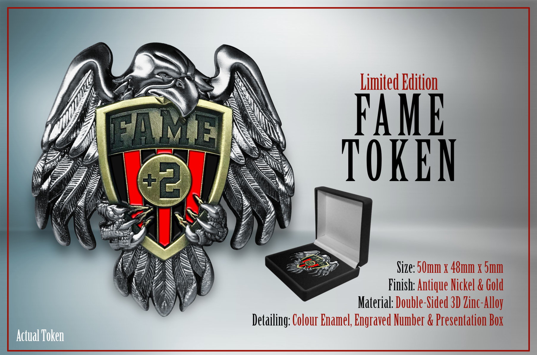 Pokal Emblem Tipp-Kick 50 mm//gold