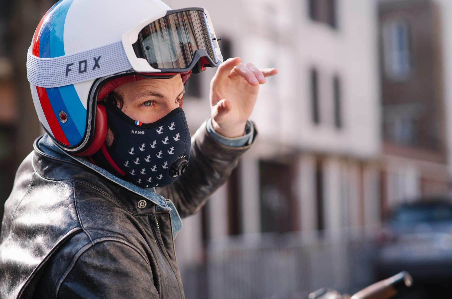 masque anti pollution r-pur nano