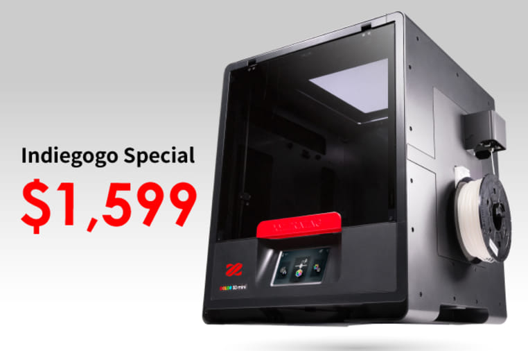 da Vinci Color mini - Full Color 3D Printer | Indiegogo