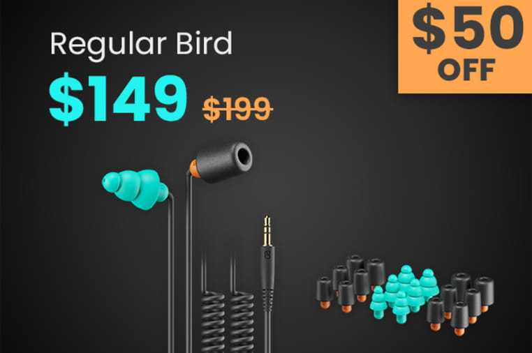 RiderBuds: Ultimate Earphones for Motorcyclists | Indiegogo