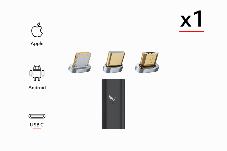 VOLTA Magnetic Adapter - Charge ANY Device! | Indiegogo