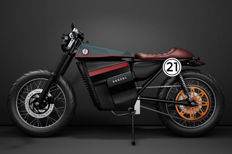 E C R  V1 Electric Cafe Racer by Denzel | Indiegogo