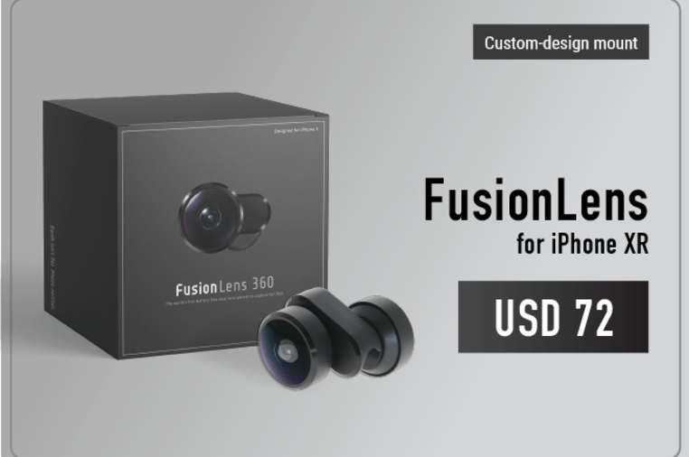 SMART LENS - ONE FOR ALL FusionLens 2 0   Indiegogo