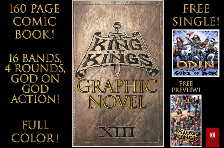 KING OF KINGS: Graphic Novel | Indiegogo