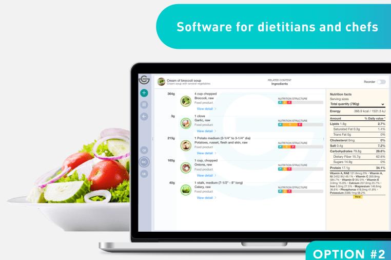 NutriLabel: Nutrition software and label printer | Indiegogo