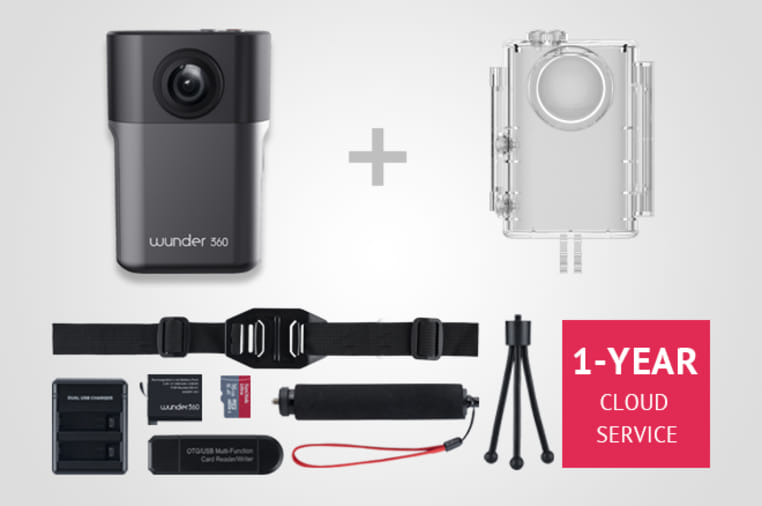 Wunder360 S1: FIRST 3D Scanning & 360 AI Camera | Indiegogo