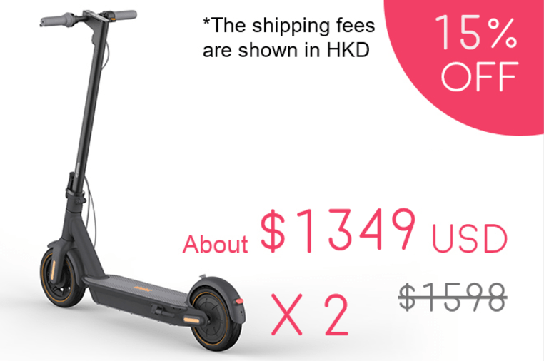 Ninebot MAX: Ultimate Electric Scooter by Segway | Indiegogo