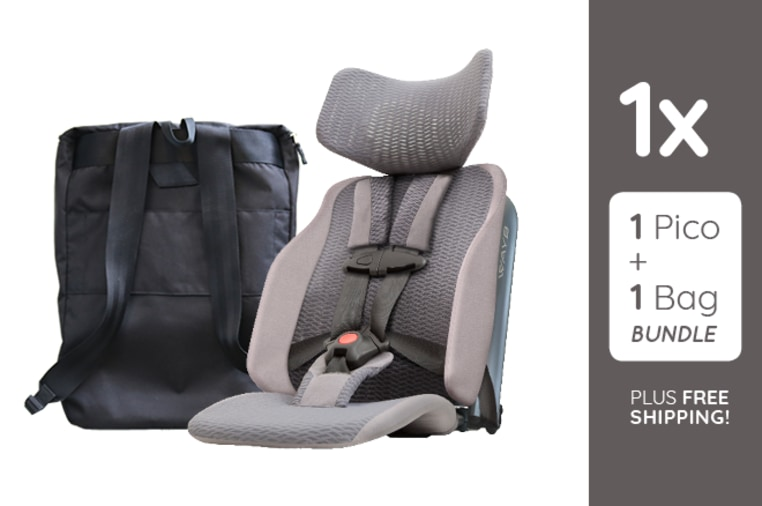 Meet Pico, the Travel Car Seat for Kids 2