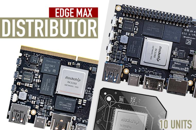 Khadas Edge, RK3399Pro Hackable & Expandable SBC | Indiegogo