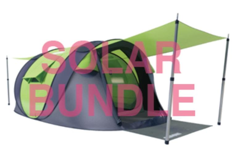 Cinch! The World's Smartest Pop-Up Tent! | Indiegogo