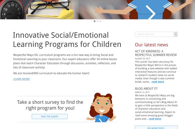 Respectful Ways Online Character Education program | Indiegogo